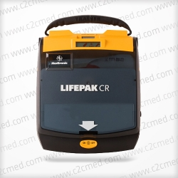 The Medtronic Physio Control LifePak CR Plus AED gives the proper and easy-to-understand support a minimally trained first responder needs to reduce stress and maximize the chance of survival for the victim.