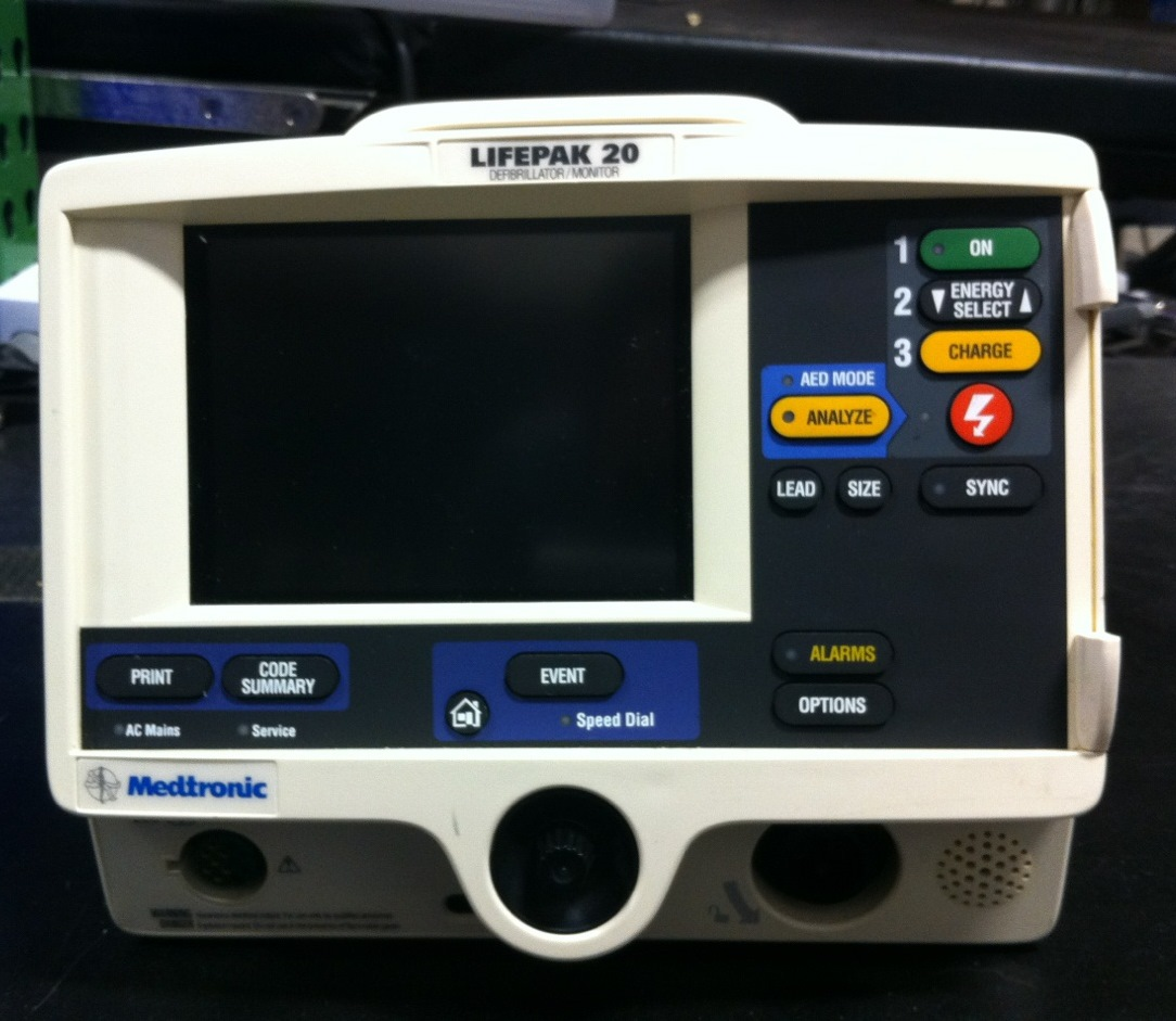 Medtronic Physio Control LifePak 20