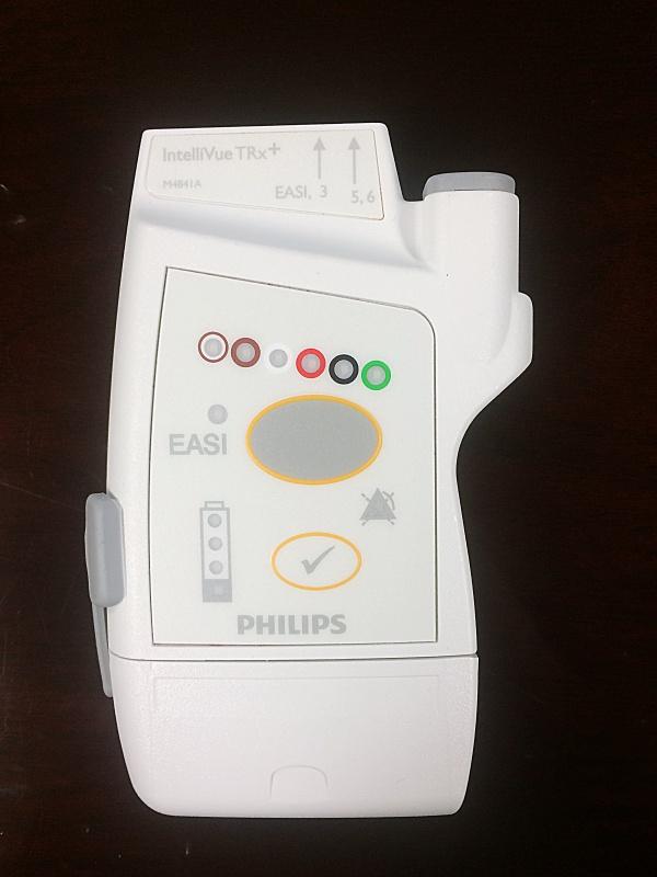 Philips M4841A IntelliVue TRx+ Telemetry Transmitter